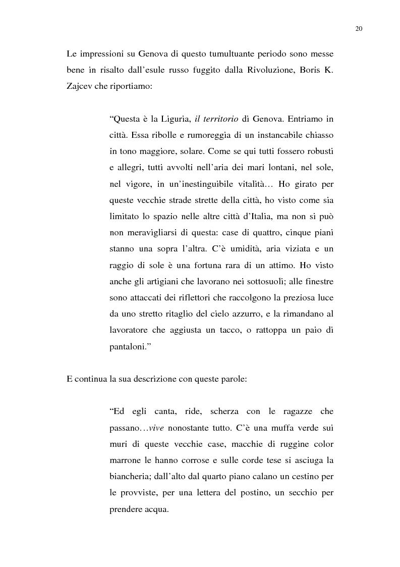 Anteprima della tesi: Nietzsche, la Liguria e Genova: i luoghi come archetipi., Pagina 13