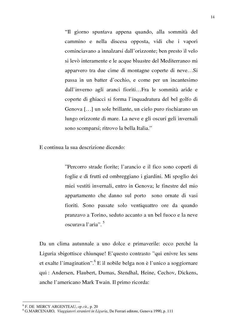 Anteprima della tesi: Nietzsche, la Liguria e Genova: i luoghi come archetipi., Pagina 7