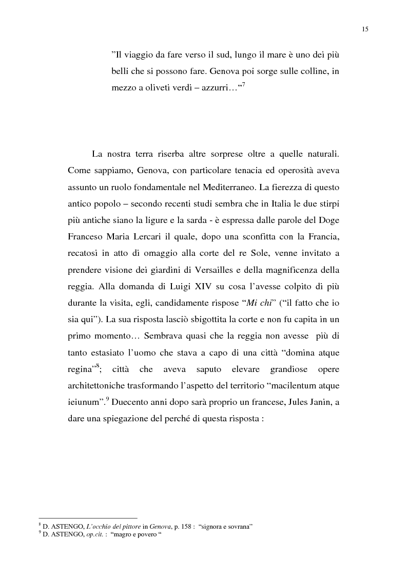 Anteprima della tesi: Nietzsche, la Liguria e Genova: i luoghi come archetipi., Pagina 8