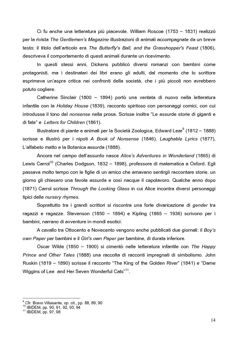 Anteprima della tesi: Peter Pan, il bambino che non voleva crescere: dalla letteratura al cinema, Pagina 11