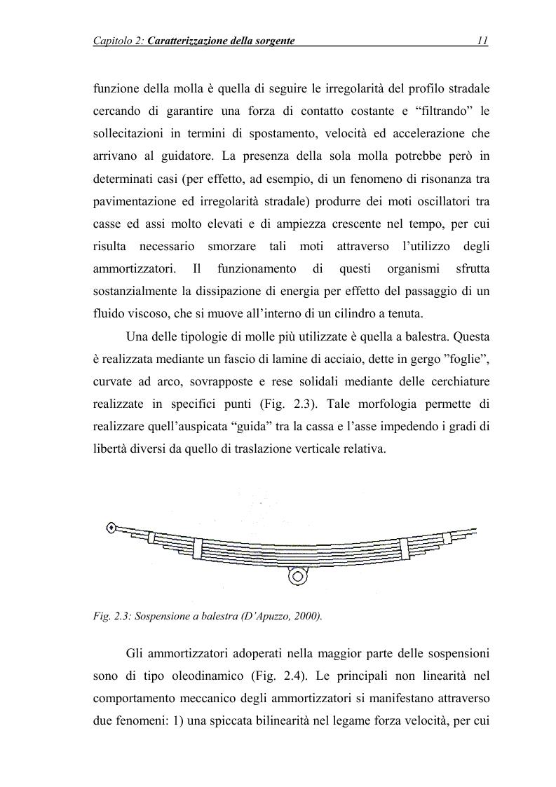 Anteprima della tesi: Vibrazioni prodotte da infrastrutture di trasporto in fase di costruzione e di esercizio, Pagina 11