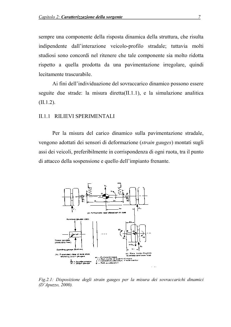 Anteprima della tesi: Vibrazioni prodotte da infrastrutture di trasporto in fase di costruzione e di esercizio, Pagina 7