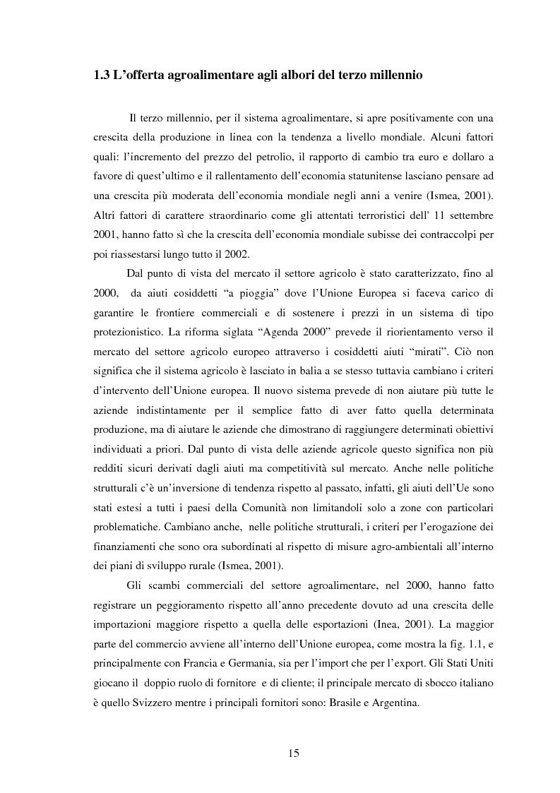 Anteprima della tesi: Significati assegnati dai consumatori ai prodotti alimentari tipici. Il caso di due Presìdi Sloow Food della Sicilia., Pagina 13