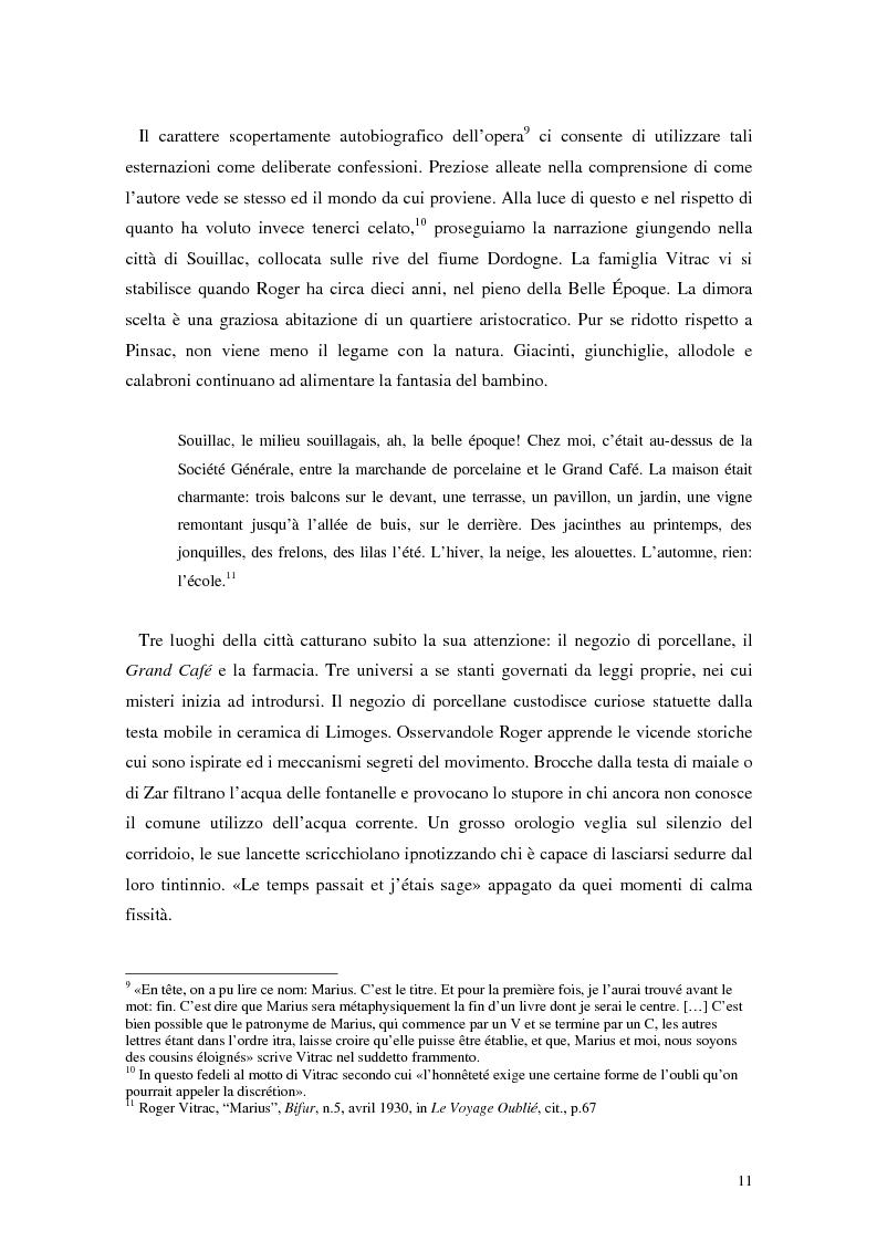 Anteprima della tesi: La mistica nuda della scena. Roger Vitrac: un uomo di teatro, Pagina 11