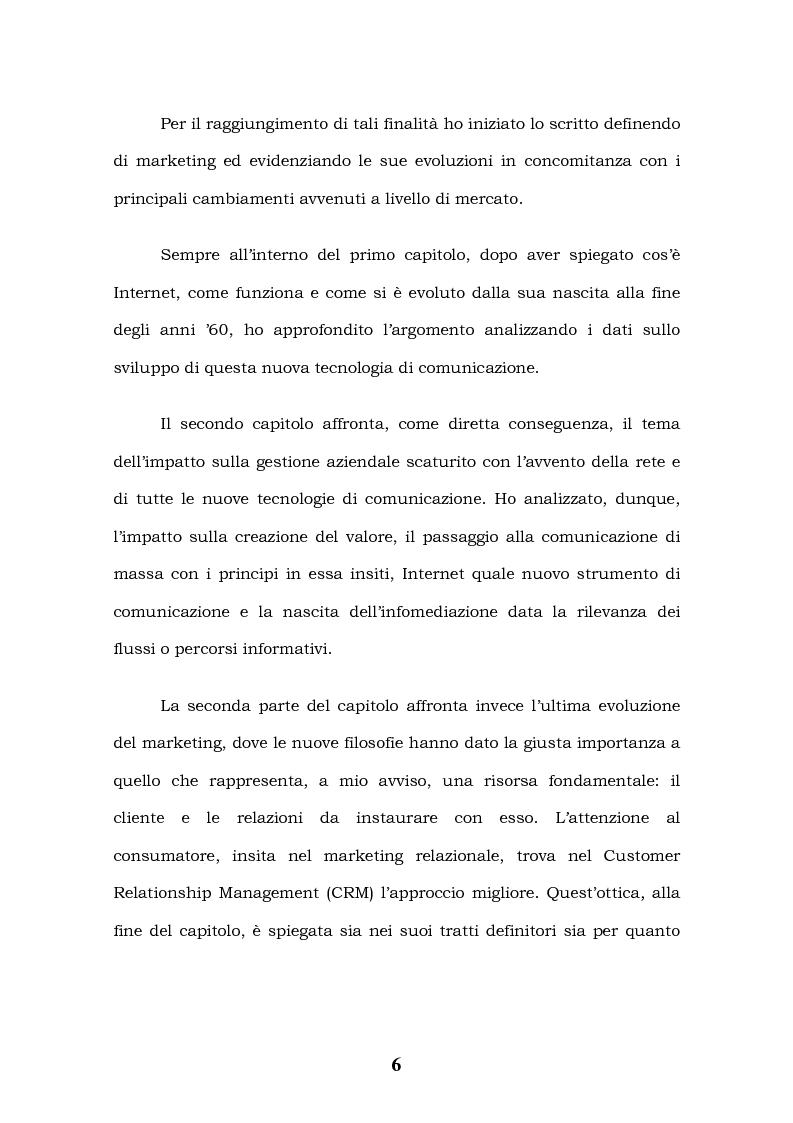 Anteprima della tesi: Tecnologie Informatiche e Internet Marketing, Pagina 2