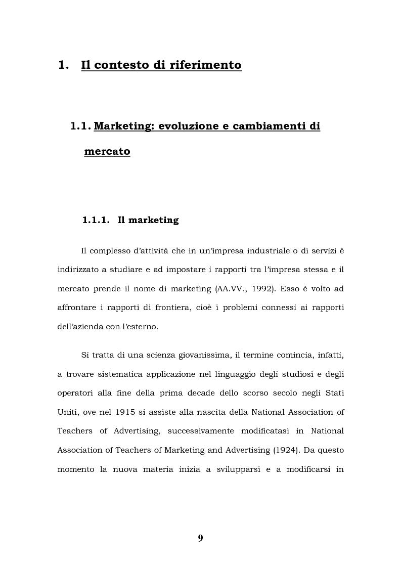 Anteprima della tesi: Tecnologie Informatiche e Internet Marketing, Pagina 5