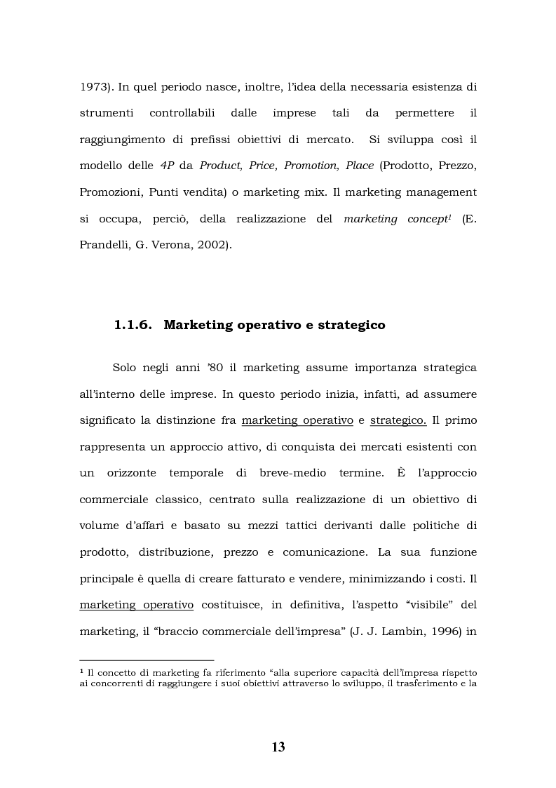 Anteprima della tesi: Tecnologie Informatiche e Internet Marketing, Pagina 9