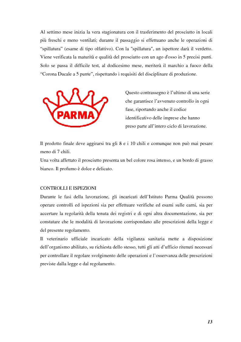 Anteprima della tesi: Prodotti tipici, azioni di marketing ed educazione alimentare: l'esperienza nelle scuole primarie di Reggio Emilia, Pagina 15
