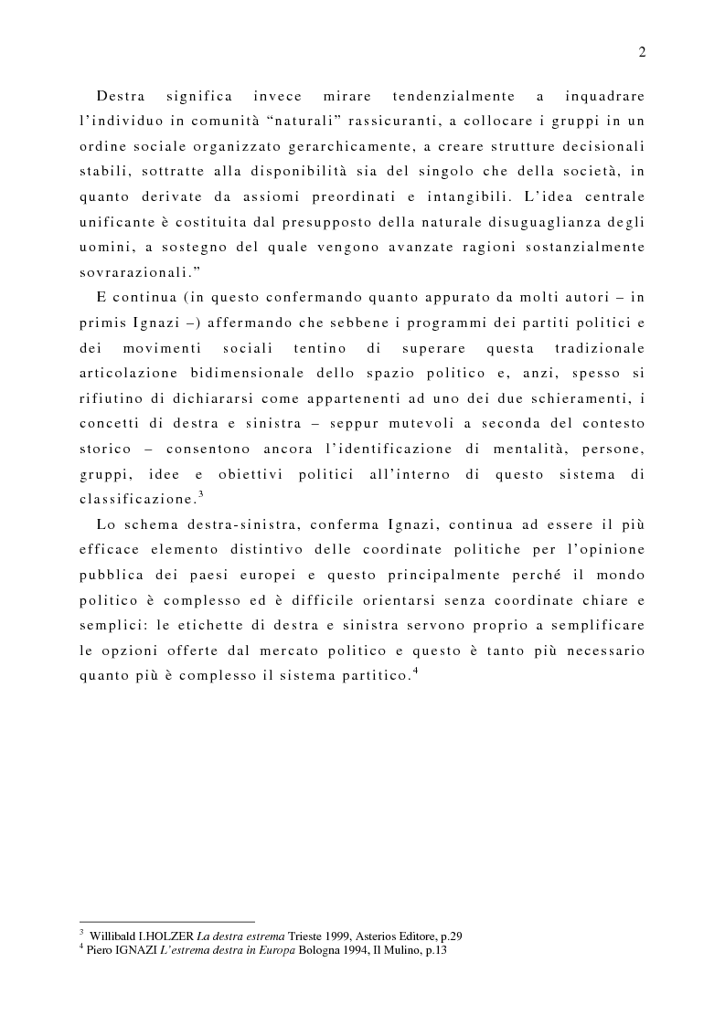 Anteprima della tesi: Il fenomeno naziskin. Analisi di una sottocultura giovanile., Pagina 2