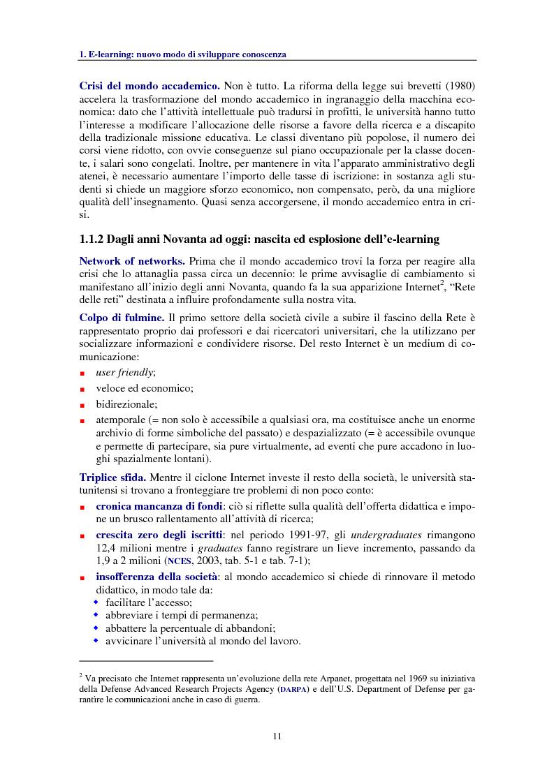 Anteprima della tesi: Socializzare la conoscenza: il progetto OpenCourseWare del MIT, Pagina 3