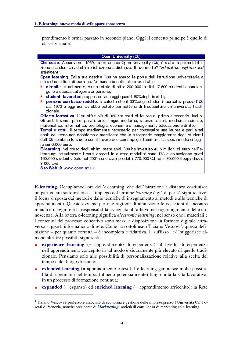Anteprima della tesi: Socializzare la conoscenza: il progetto OpenCourseWare del MIT, Pagina 6