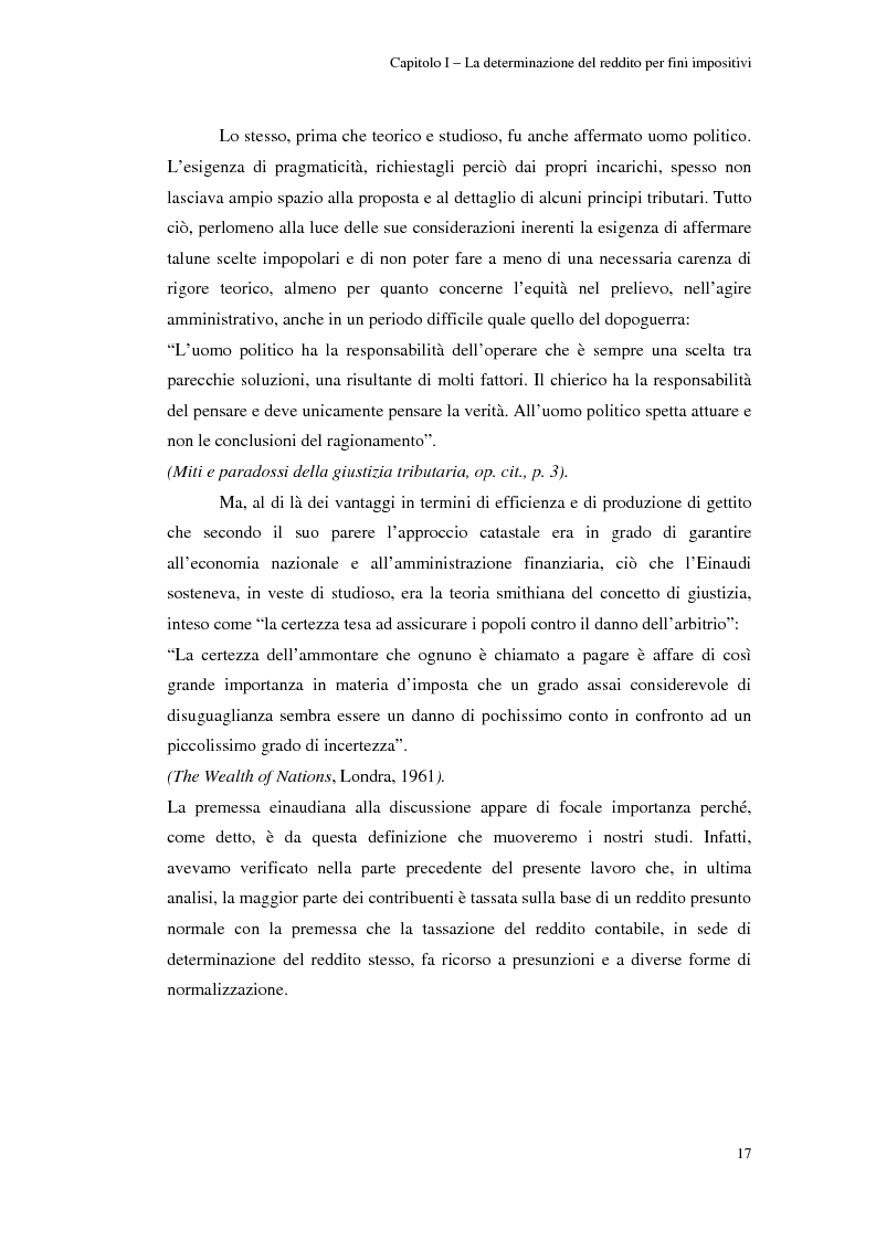 Anteprima della tesi: Gli studi di settore: un trade-off tra semplicità amministrativa ed equità del prelievo, Pagina 13