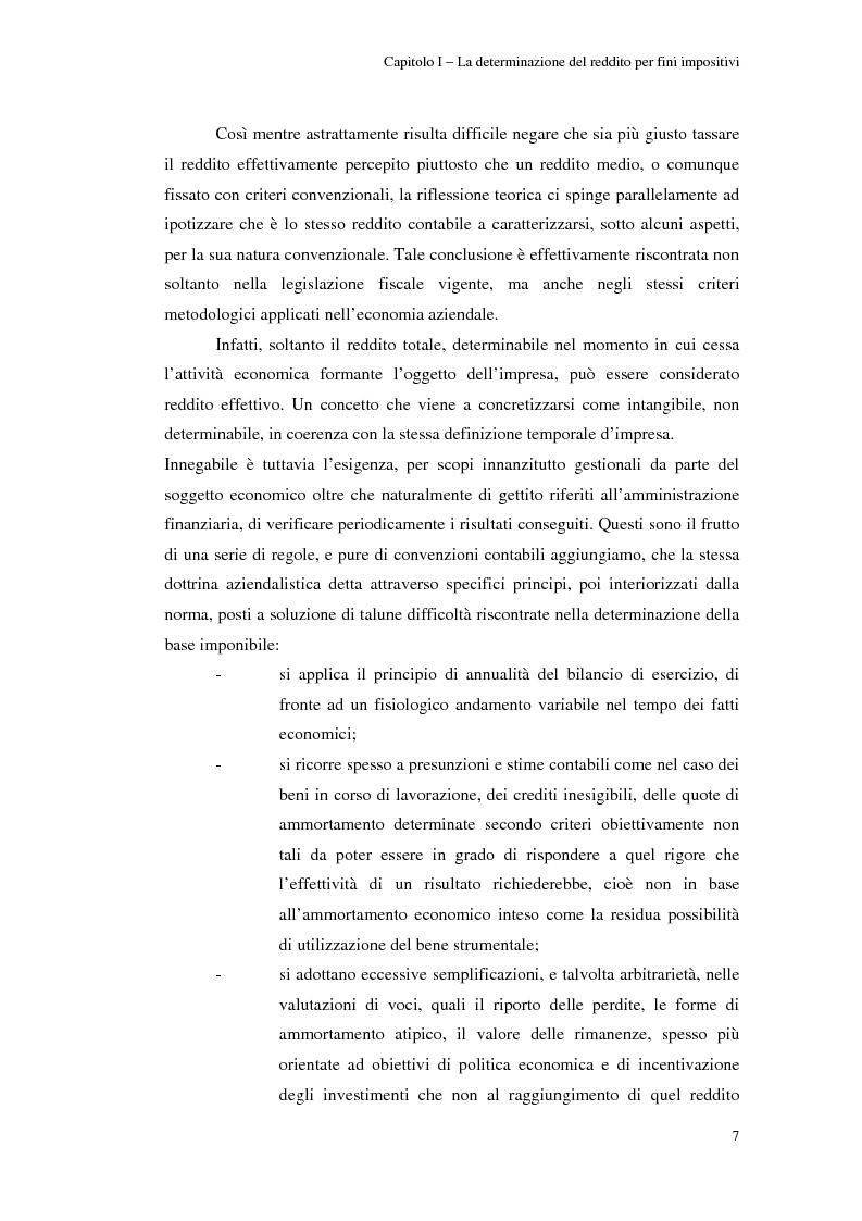 Anteprima della tesi: Gli studi di settore: un trade-off tra semplicità amministrativa ed equità del prelievo, Pagina 3