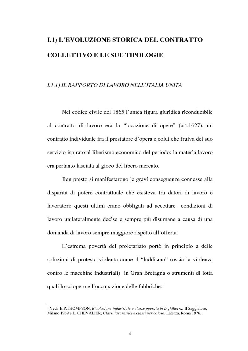 Anteprima della tesi: La flessibilità ed il contratto collettivo nazionale bancari, Pagina 4