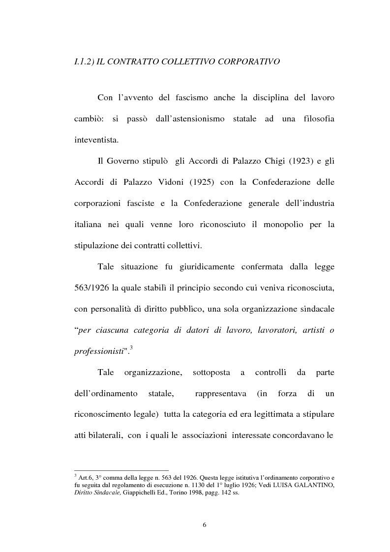 Anteprima della tesi: La flessibilità ed il contratto collettivo nazionale bancari, Pagina 6