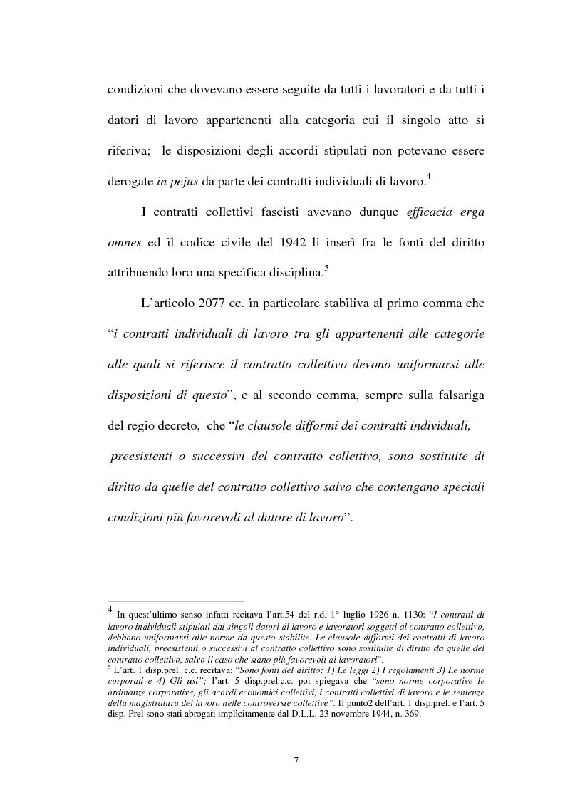 Anteprima della tesi: La flessibilità ed il contratto collettivo nazionale bancari, Pagina 7
