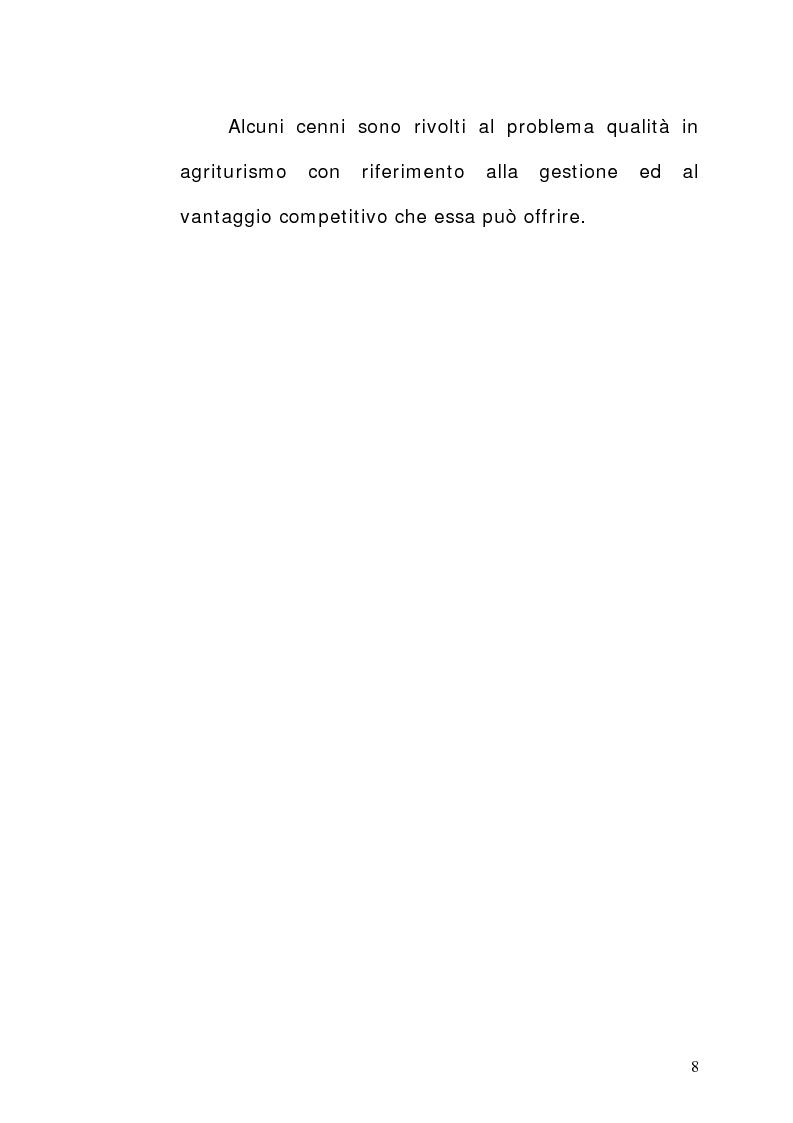 Anteprima della tesi: Aziende agrituristiche venatorie: aspetti economici, organizzativi e prospettive di sviluppo nell'ottica di destagionalizzazione., Pagina 3