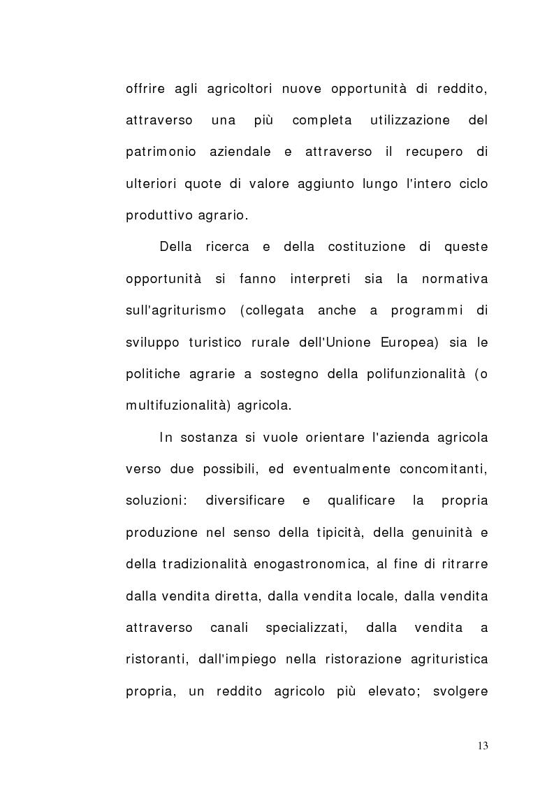 Anteprima della tesi: Aziende agrituristiche venatorie: aspetti economici, organizzativi e prospettive di sviluppo nell'ottica di destagionalizzazione., Pagina 8
