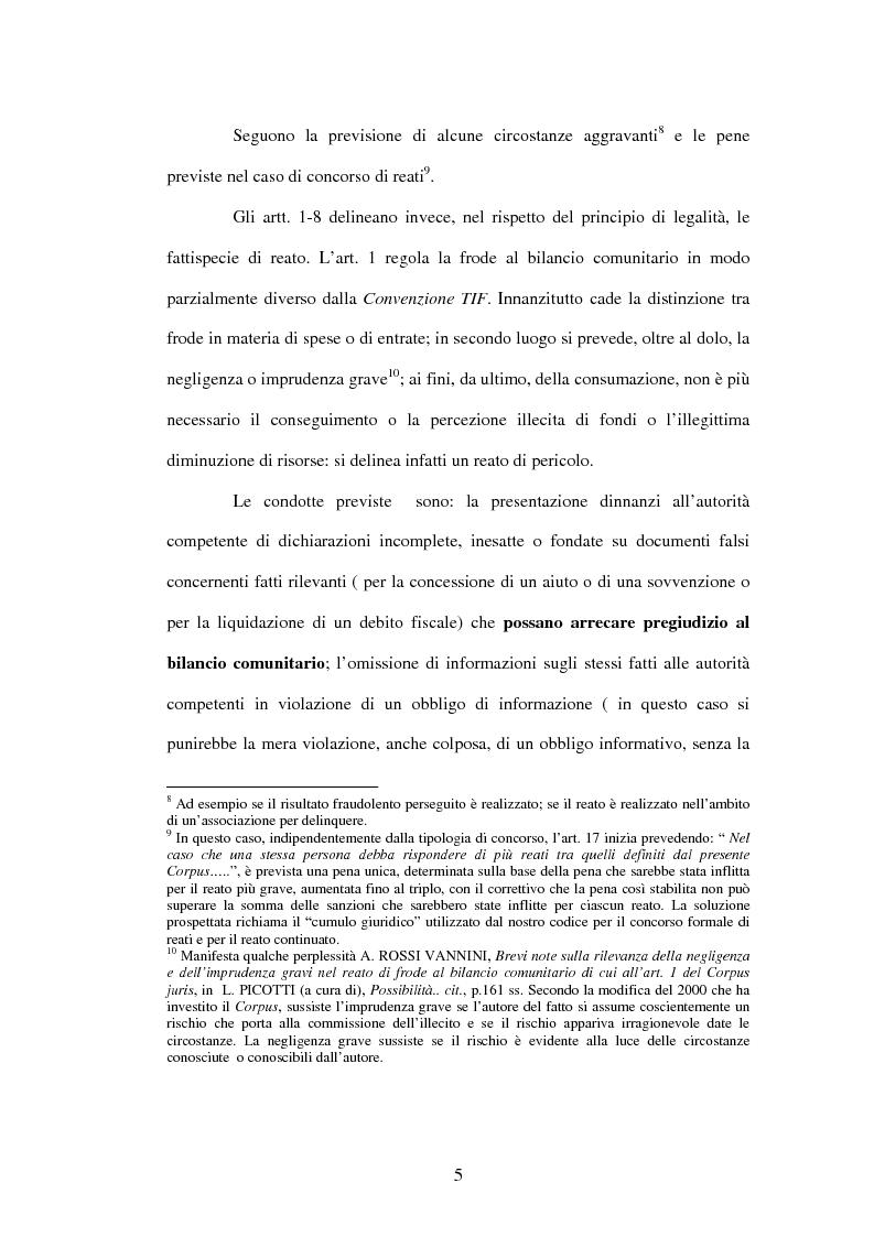 Anteprima della tesi: La cooperazione penale internazionale: profili di diritto sostanziale, Pagina 5
