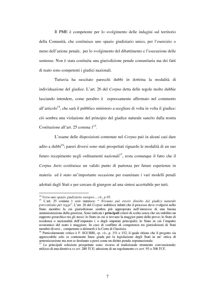 Anteprima della tesi: La cooperazione penale internazionale: profili di diritto sostanziale, Pagina 7