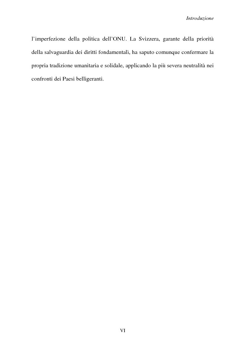 Anteprima della tesi: Svizzera e ONU: alla ricerca di una difficile neutralità, Pagina 6