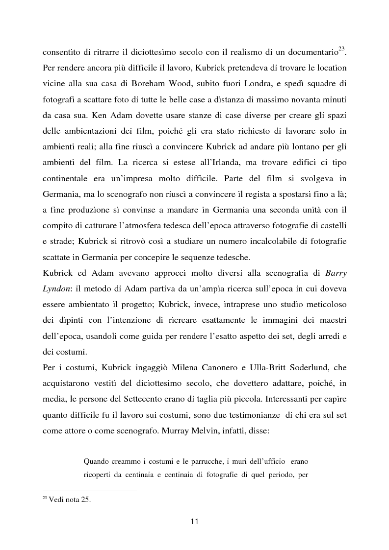 Anteprima della tesi: Barry Lyndon tra letteratura e cinema, Pagina 11