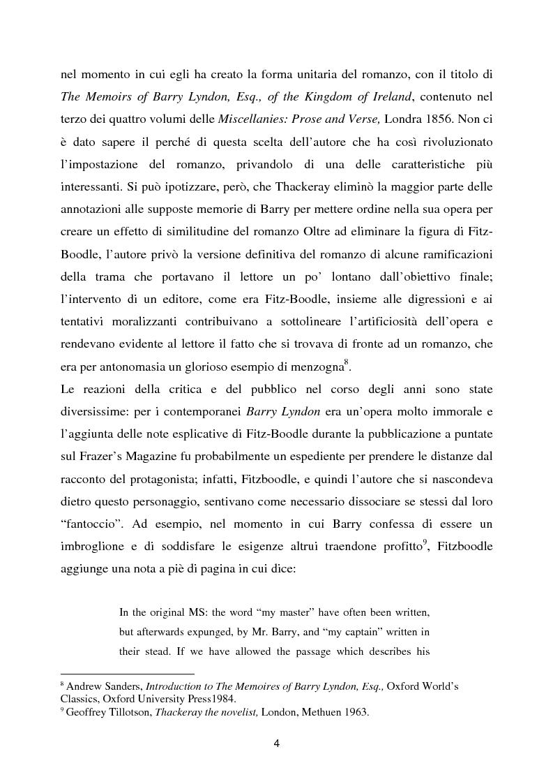 Anteprima della tesi: Barry Lyndon tra letteratura e cinema, Pagina 4