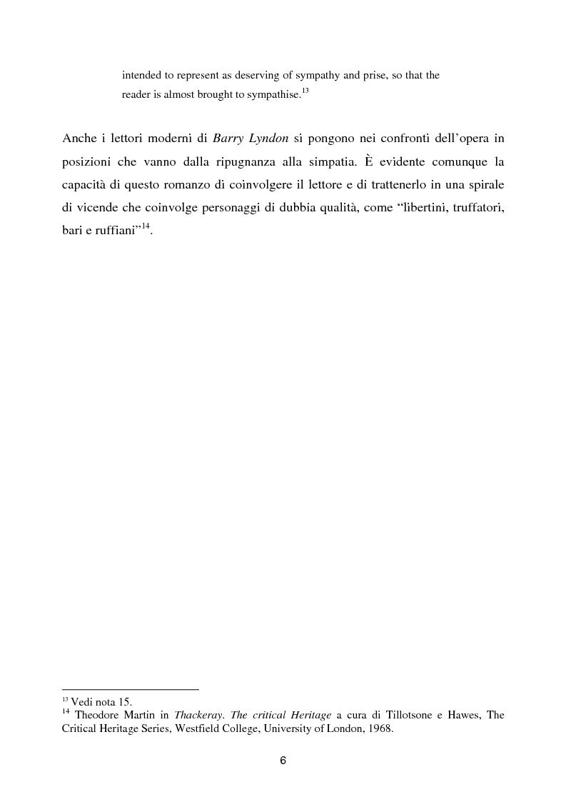 Anteprima della tesi: Barry Lyndon tra letteratura e cinema, Pagina 6