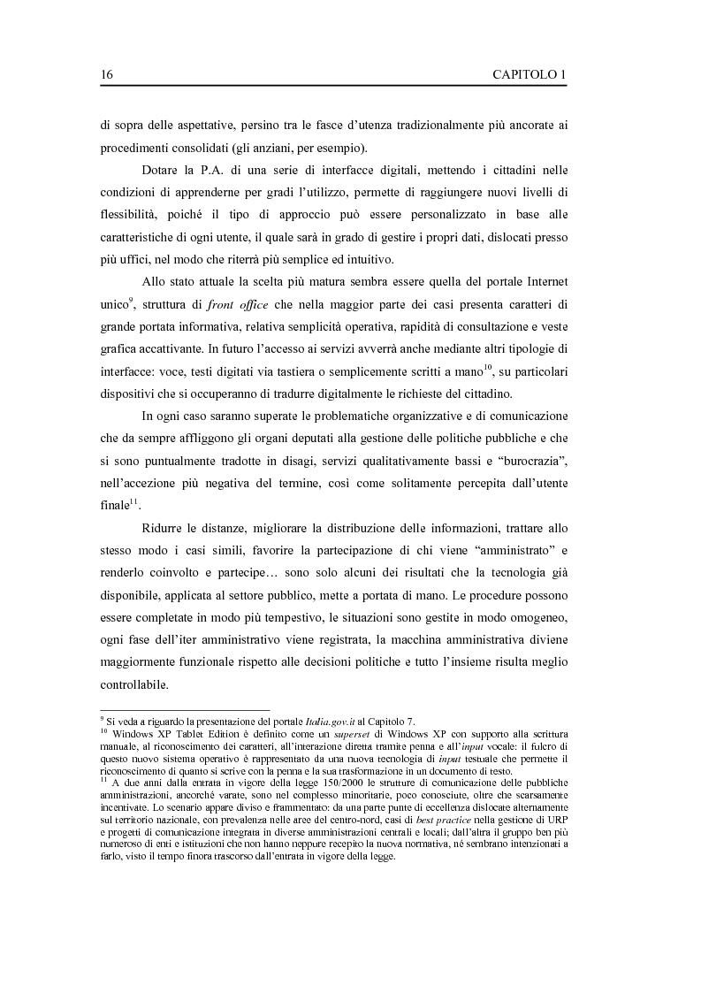 Anteprima della tesi: L'interfaccia digitale della Pubblica Amministrazione, Pagina 10