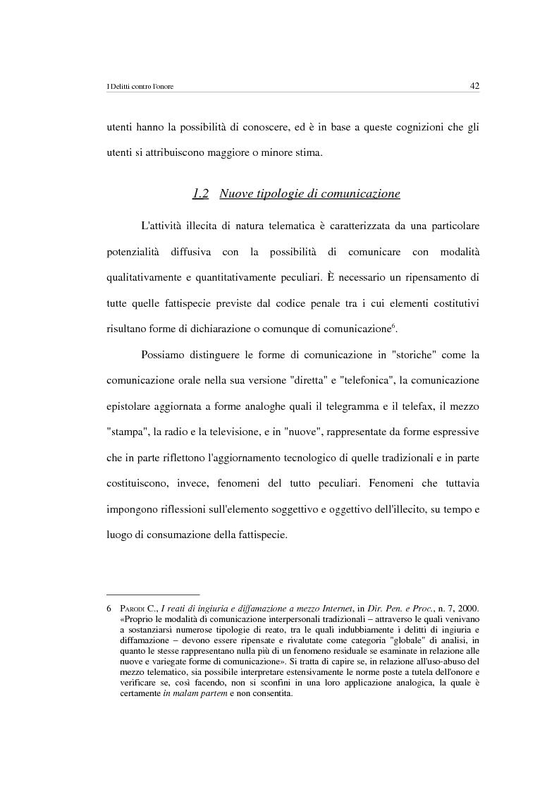 Anteprima della tesi: Forme di aggressione alla persona tramite strumenti telematici, Pagina 14