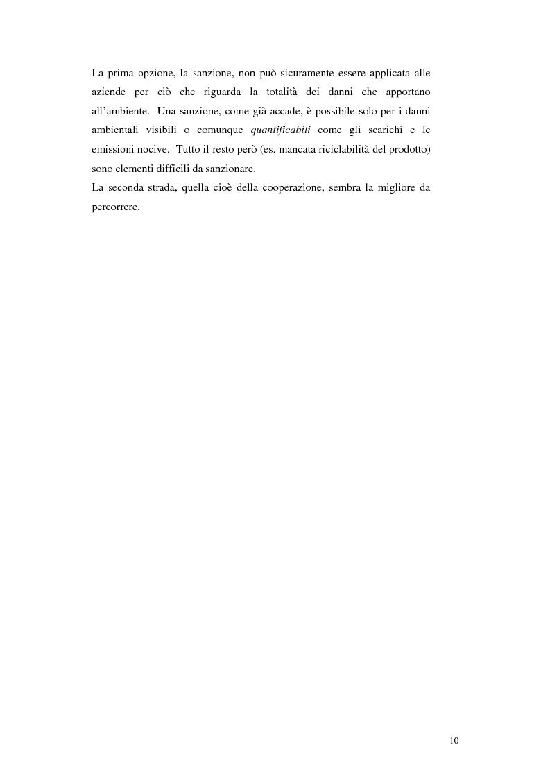 Anteprima della tesi: Strumenti di ecodesign per le piccole-medie imprese, Pagina 4