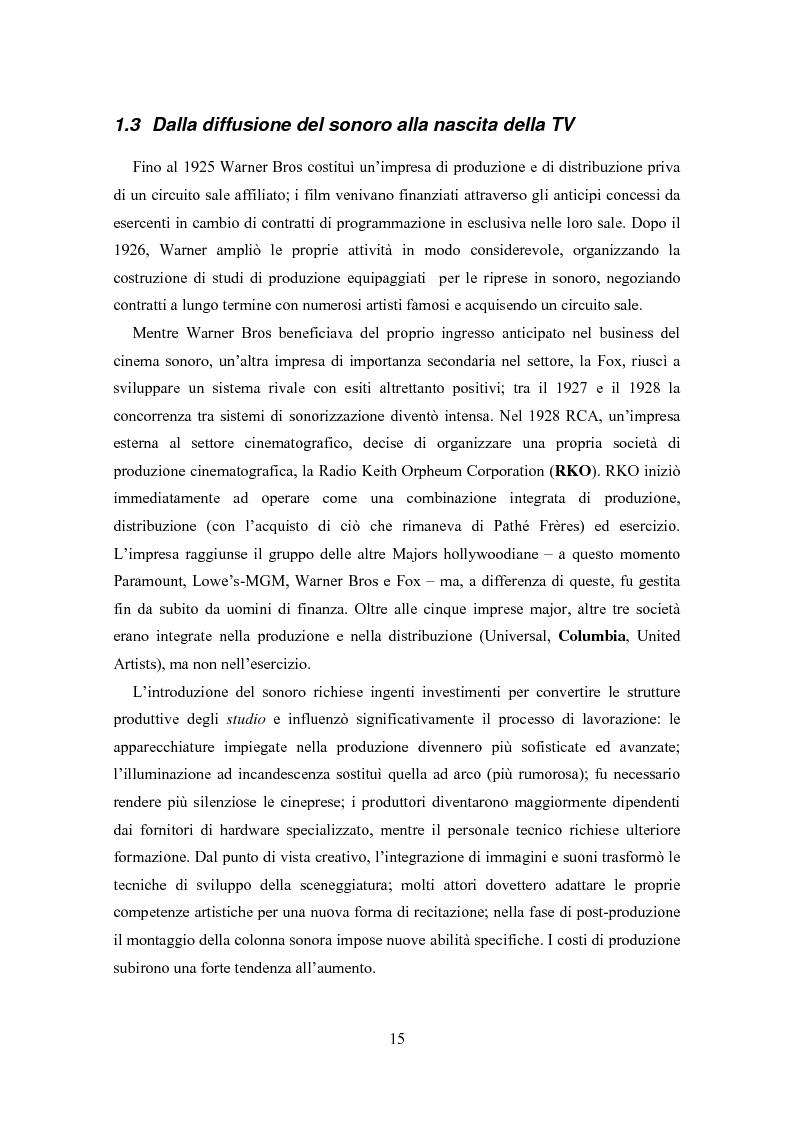 Anteprima della tesi: La distribuzione nell'industria cinematografica, Pagina 12