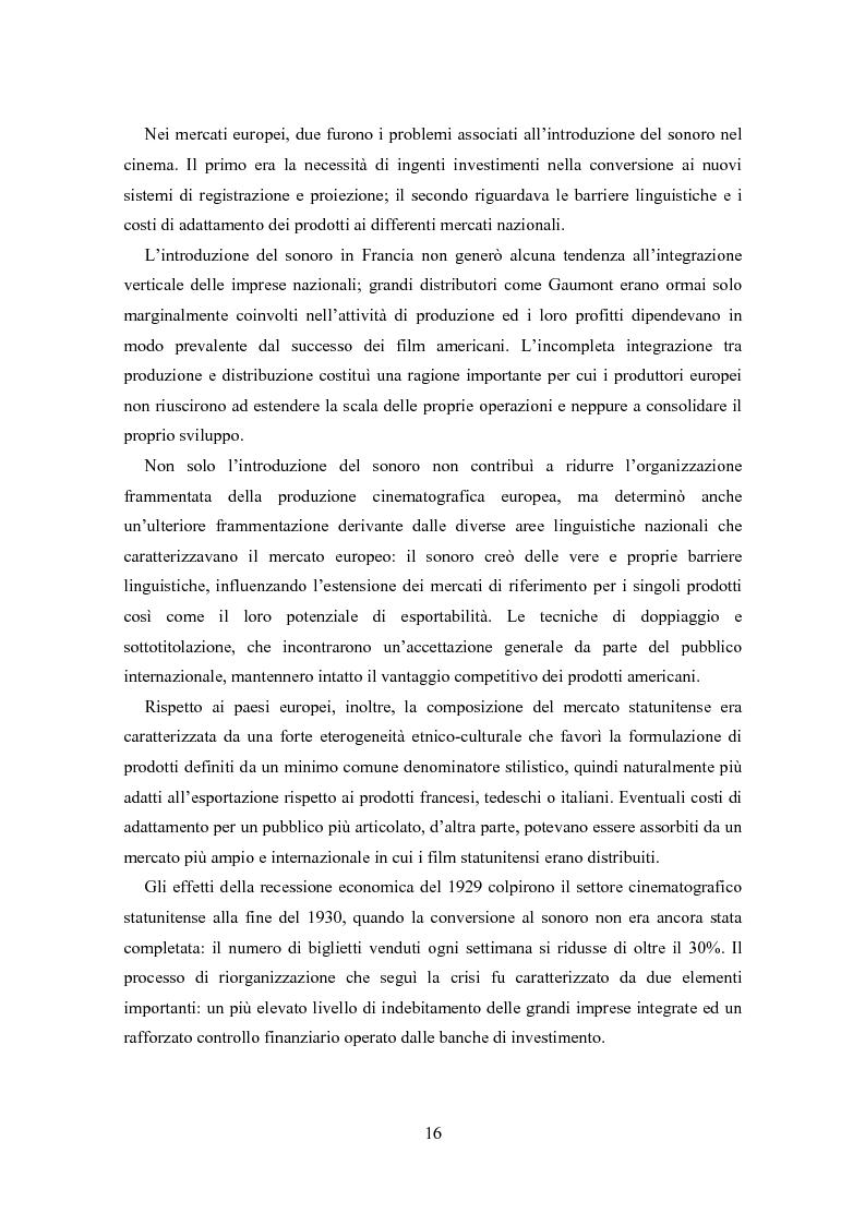 Anteprima della tesi: La distribuzione nell'industria cinematografica, Pagina 13
