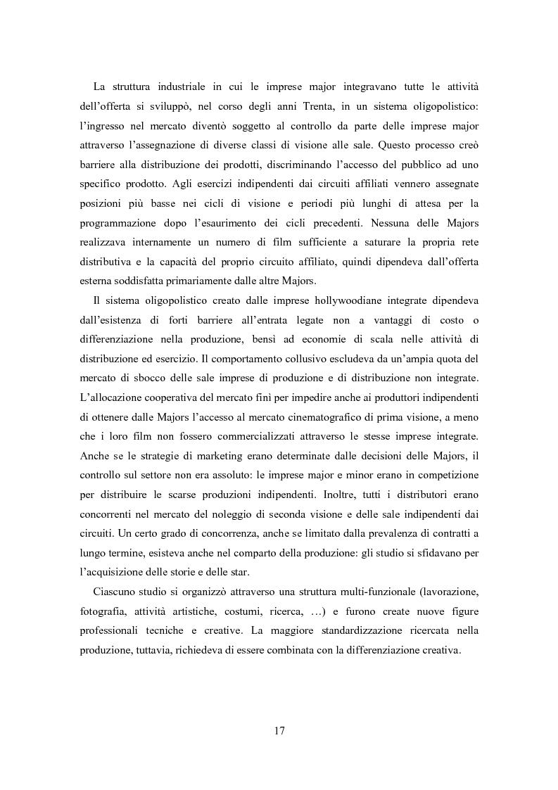 Anteprima della tesi: La distribuzione nell'industria cinematografica, Pagina 14