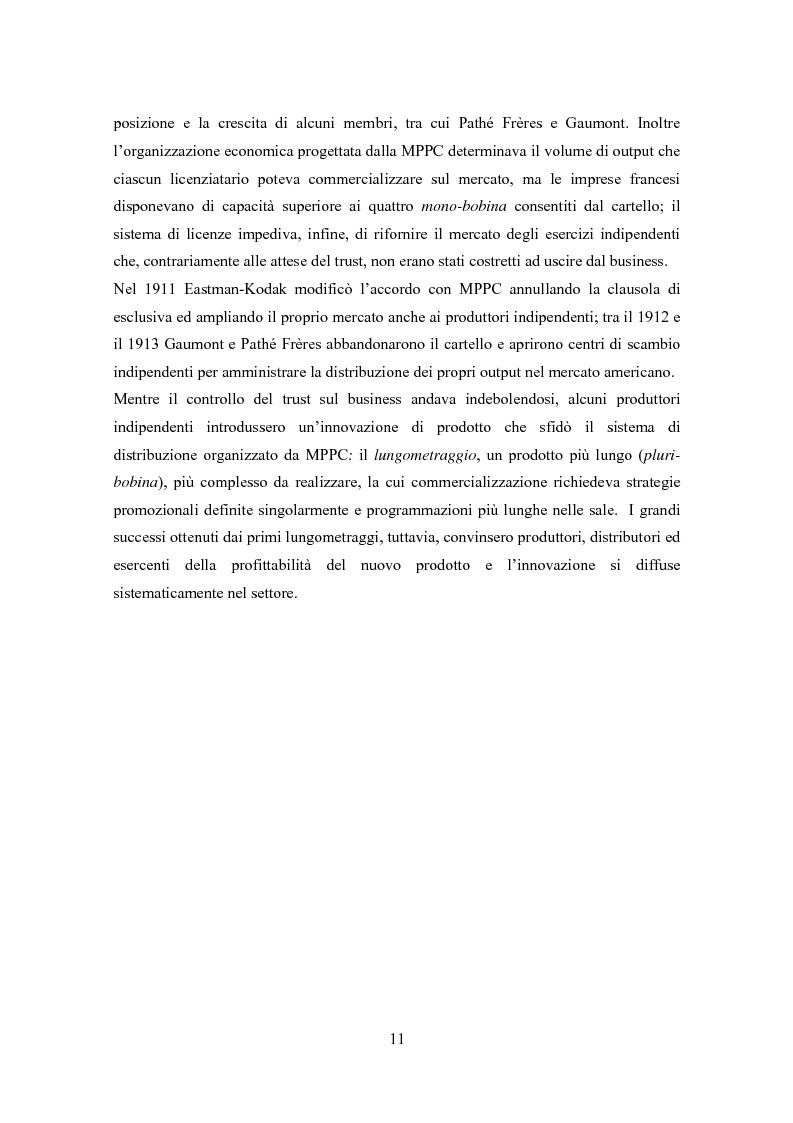 Anteprima della tesi: La distribuzione nell'industria cinematografica, Pagina 8