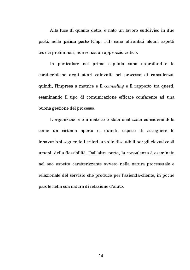 Anteprima della tesi: La progettazione e la comunicazione formativa nelle imprese - il caso Consiel-Alenia Marconi System -, Pagina 9