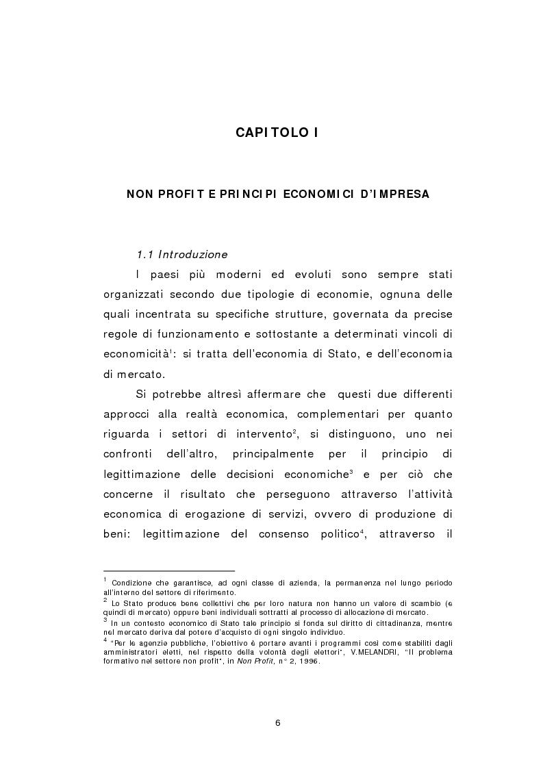 Anteprima della tesi: La raccolta di risorse nelle aziende non profit, Pagina 6