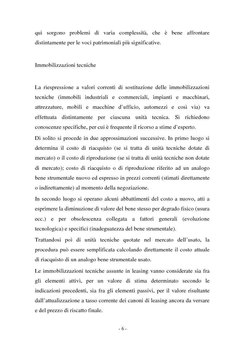 Anteprima della tesi: Valutazione di cessione di agenzie di viaggio: un caso, Pagina 6