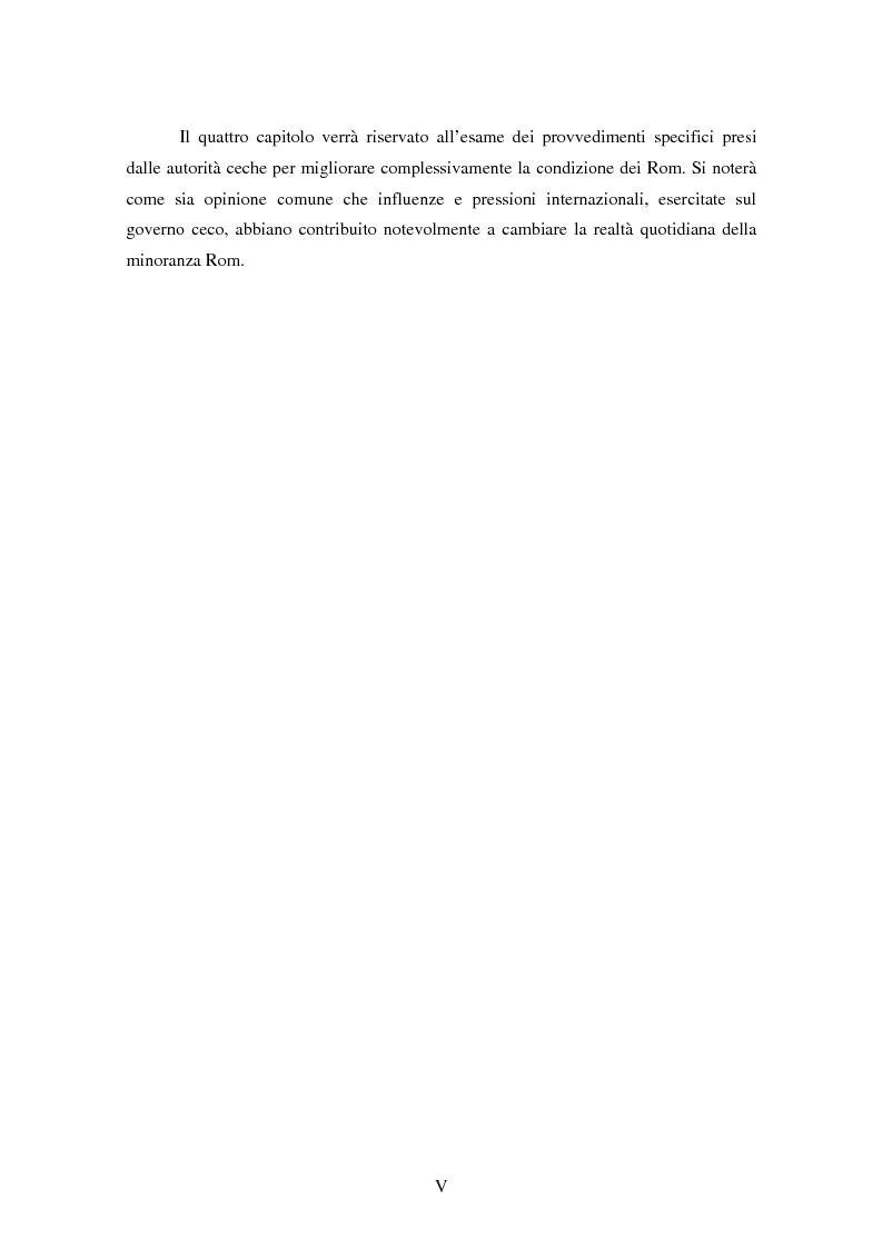 Anteprima della tesi: Macropolitiche per la gestione della diversità etnica. il caso dei Rom nella Repubblica Ceca., Pagina 3
