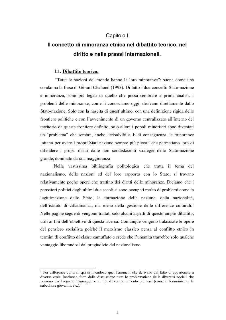 Anteprima della tesi: Macropolitiche per la gestione della diversità etnica. il caso dei Rom nella Repubblica Ceca., Pagina 4