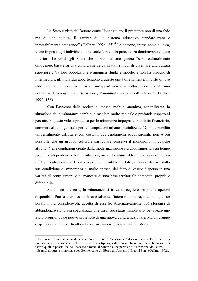 Anteprima della tesi: Macropolitiche per la gestione della diversità etnica. il caso dei Rom nella Repubblica Ceca., Pagina 6