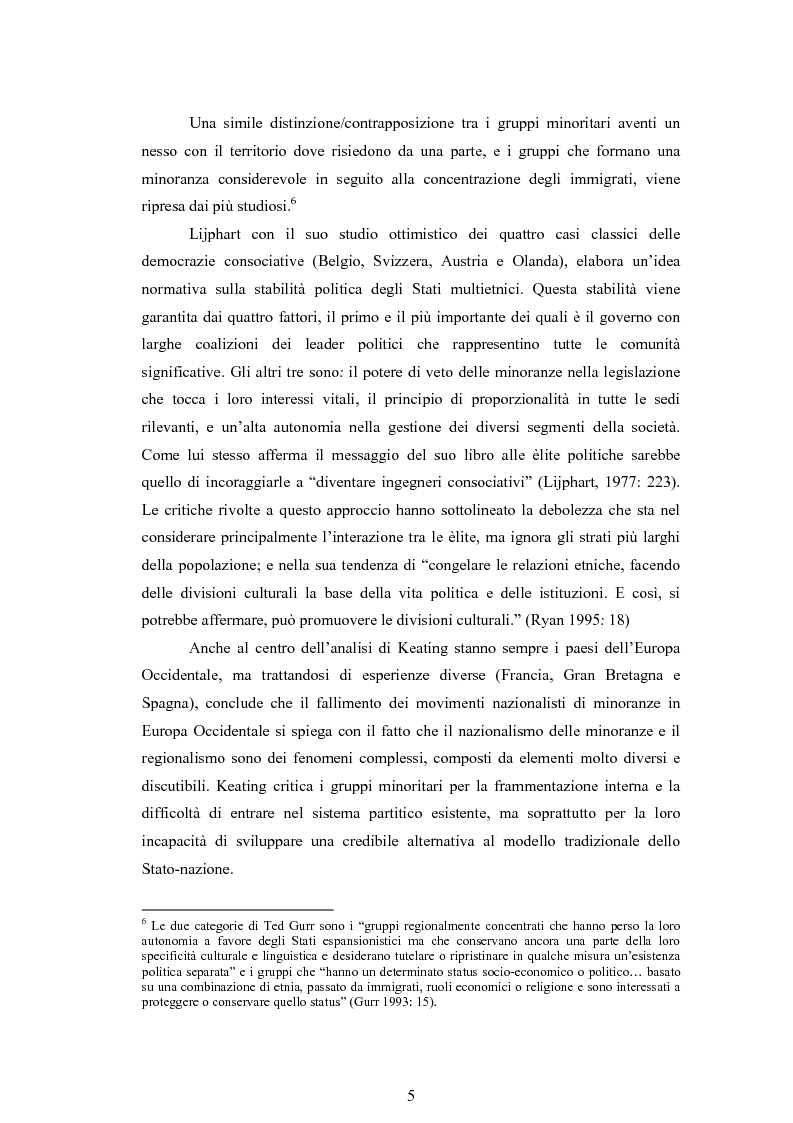Anteprima della tesi: Macropolitiche per la gestione della diversità etnica. il caso dei Rom nella Repubblica Ceca., Pagina 8