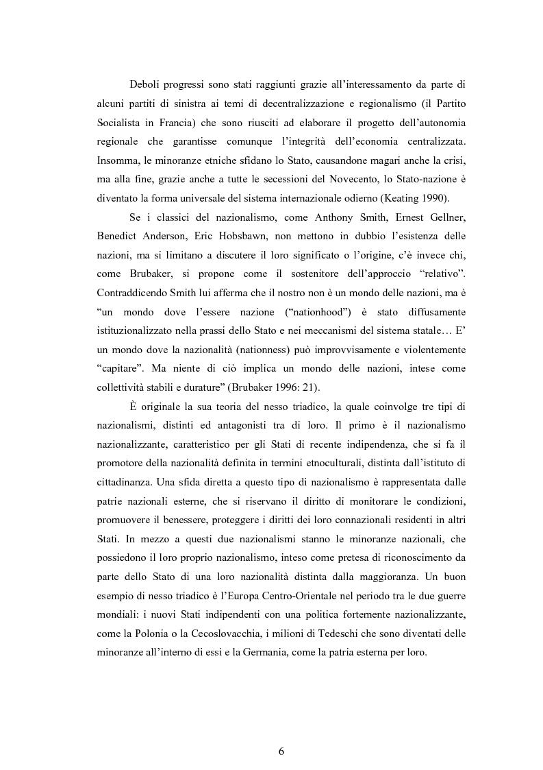 Anteprima della tesi: Macropolitiche per la gestione della diversità etnica. il caso dei Rom nella Repubblica Ceca., Pagina 9