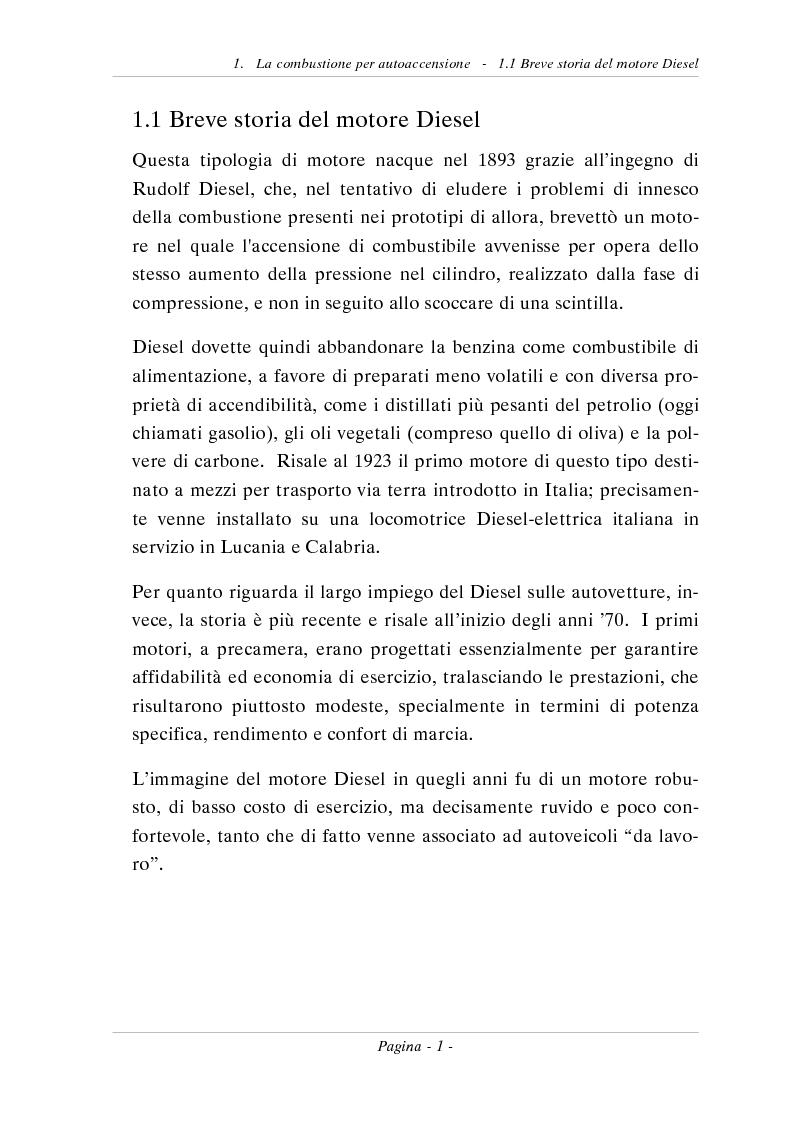 Anteprima della tesi: Progetto di un banco prova per sistemi di iniezione Diesel ad alta pressione, Pagina 3