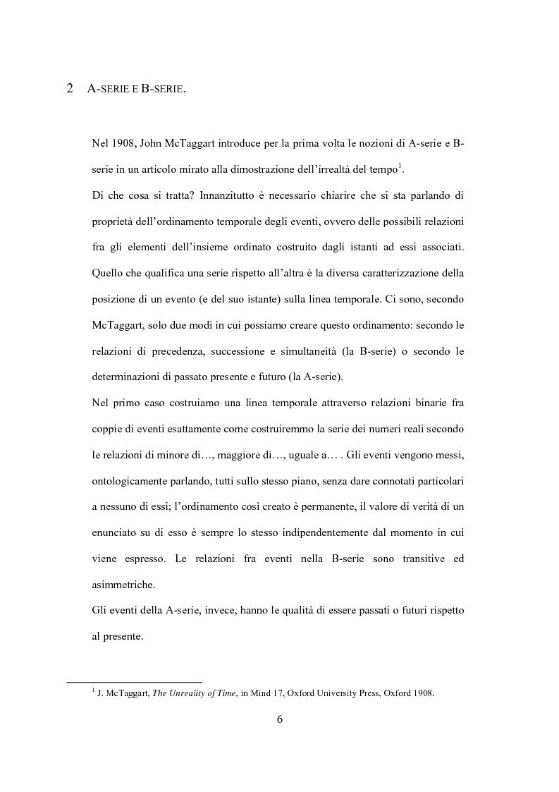 Anteprima della tesi: Il tempo nel confronto tra fisica ed esperienza, Pagina 4