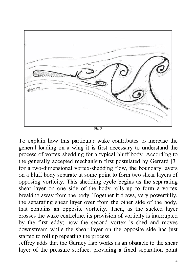 Anteprima della tesi: Gurney flaps in sailing, do they help?, Pagina 4