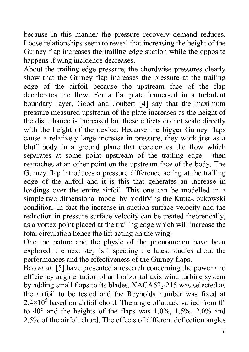 Anteprima della tesi: Gurney flaps in sailing, do they help?, Pagina 6
