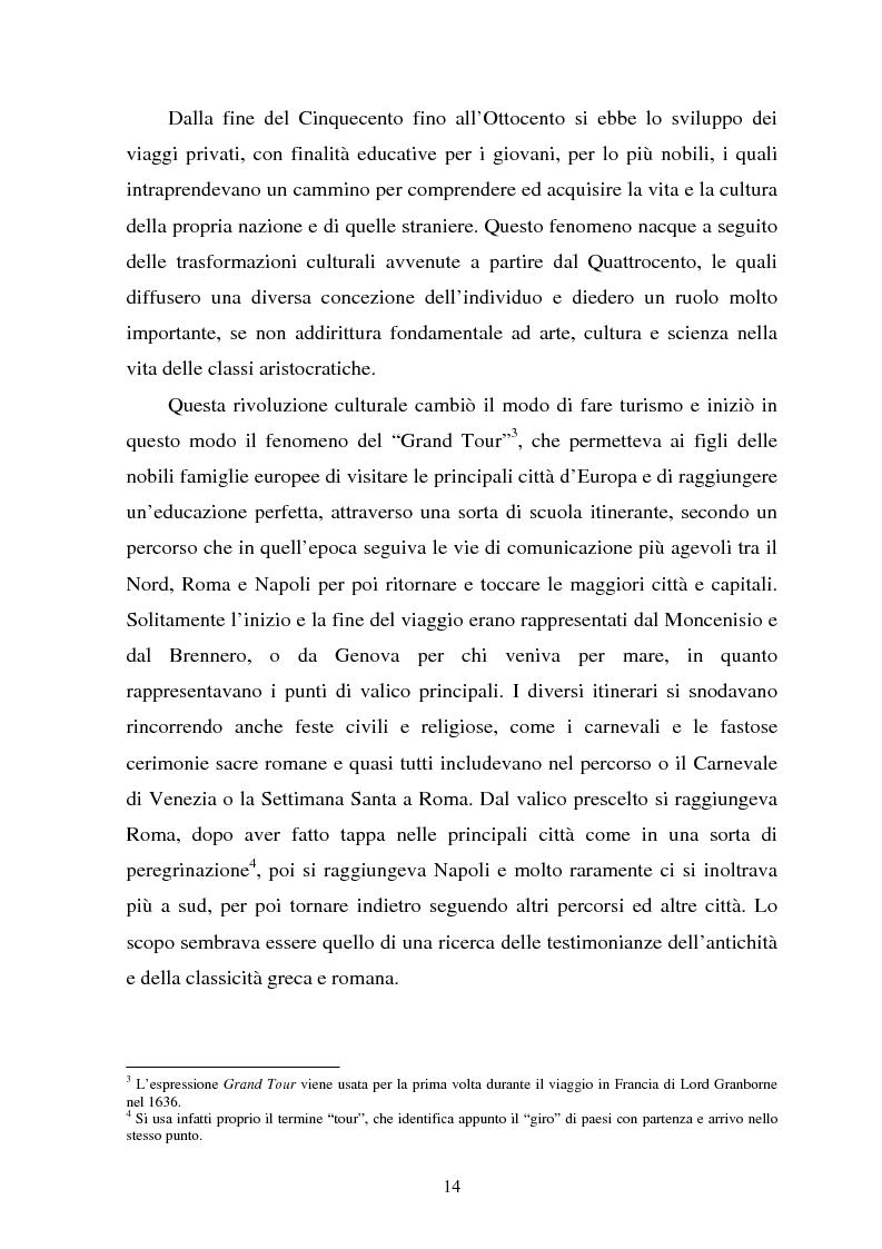 Anteprima della tesi: Il turismo culturale nelle città d'arte. Il caso di Trento, Pagina 11