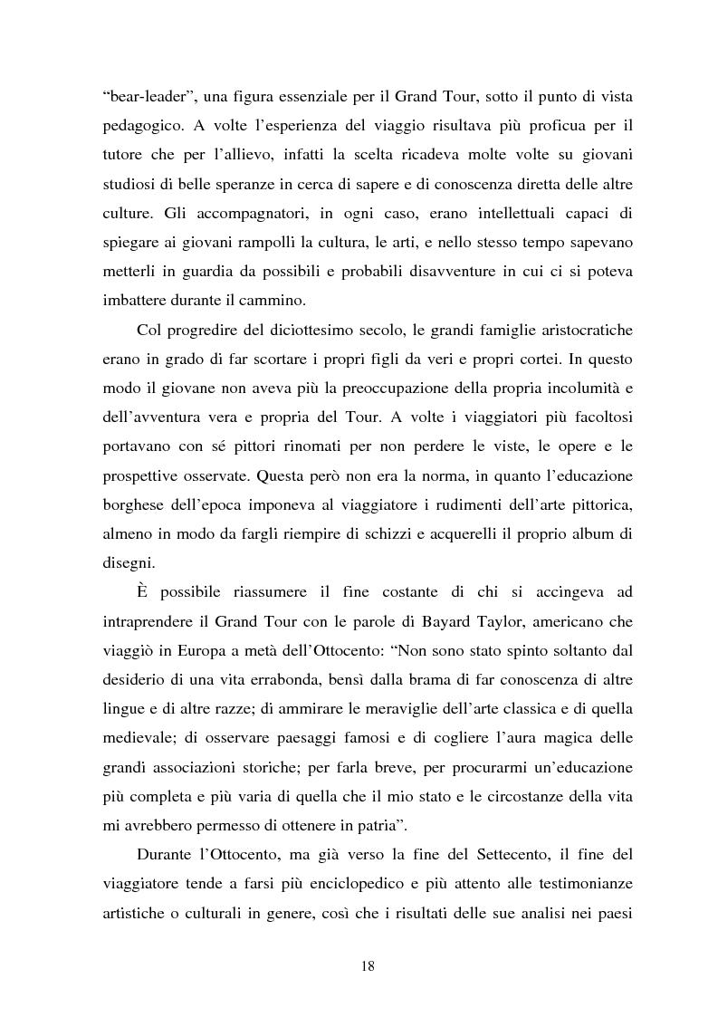 Anteprima della tesi: Il turismo culturale nelle città d'arte. Il caso di Trento, Pagina 15