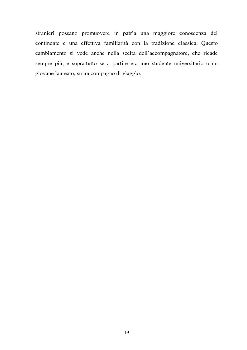 Anteprima della tesi: Il turismo culturale nelle città d'arte. Il caso di Trento, Pagina 16